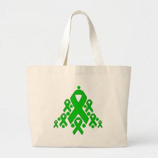Kidney Disease  Christmas Ribbon Tree Bags