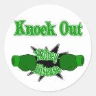 Kidney Disease Classic Round Sticker