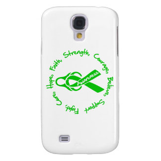 Kidney Disease Fight Cure Hope Logo Samsung Galaxy S4 Cover