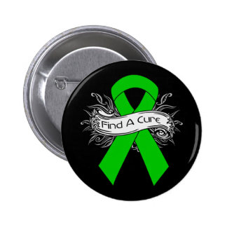 Kidney Disease Find A Cure Ribbon Pinback Buttons