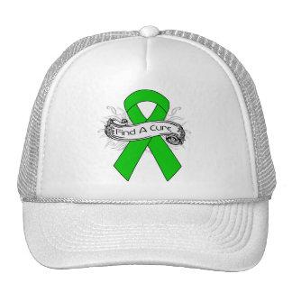 Kidney Disease Find A Cure Ribbon Trucker Hat