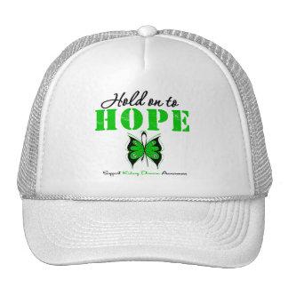 Kidney Disease Hold On To Hope Trucker Hat