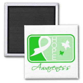 Kidney Disease Hope Awareness Tile Fridge Magnets