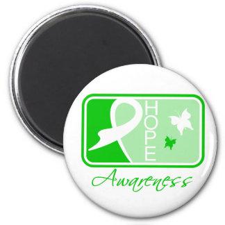 Kidney Disease Hope Awareness Tile Magnets