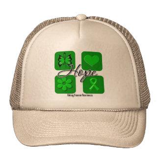 Kidney Disease Hope Love Inspire Awareness Trucker Hat