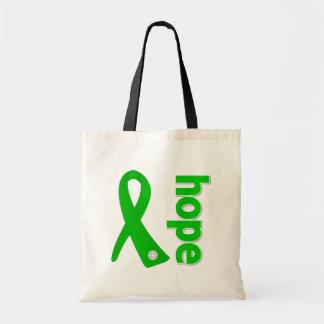 Kidney Disease Hope Ribbon Bags