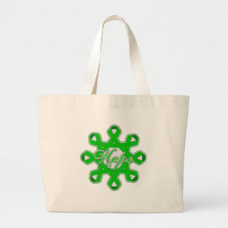 Kidney Disease Hope Unity Ribbons Tote Bags