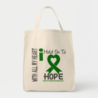 Kidney Disease I Hold On To Hope Tote Bag