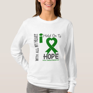 Kidney Disease I Hold On To Hope T-Shirt
