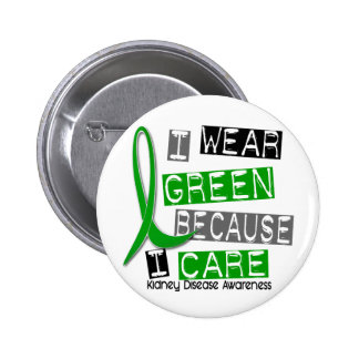 Kidney Disease I Wear Green Because I Care 37 Pin