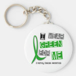 Kidney Disease I Wear Green For ME 37 Keychain