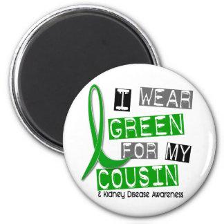 Kidney Disease I Wear Green For My Cousin 37 Magnet