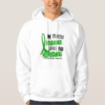 Kidney Disease I Wear Green For My Daughter 37 Hoodie