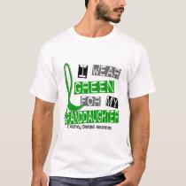 Kidney Disease I Wear Green For My Granddaughter T-Shirt