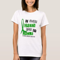 Kidney Disease I Wear Green For My Uncle 37 T-Shirt