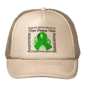 Kidney Disease Inspirations Spiral Ribbon Trucker Hat