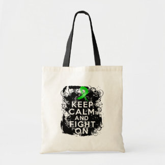 Kidney Disease Keep Calm and Fight On Tote Bag