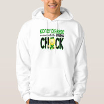 Kidney Disease Messed With The Wrong Chick Hoodie