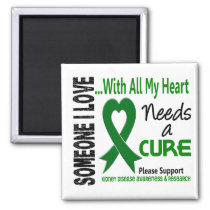 Kidney Disease Needs A Cure 3 Magnet