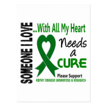 Kidney Disease Needs A Cure 3 Postcard