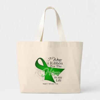 Kidney Disease Ribbon Hero in My Life Bags