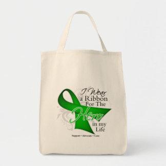 Kidney Disease Ribbon Hero in My Life Tote Bag