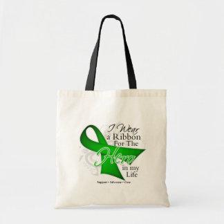 Kidney Disease Ribbon Hero in My Life Bag