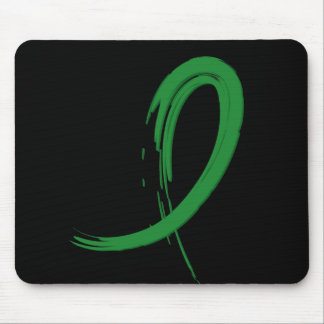 Kidney Disease s Green Ribbon A4 Mouse Pads