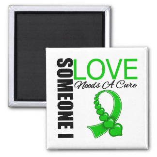 Kidney Disease Someone I Love Needs A Cure 2 Inch Square Magnet