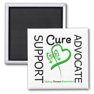 Kidney Disease Support Advocate Cure Fridge Magnet