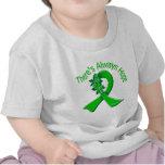 Kidney Disease There's Always Hope Floral Tshirt
