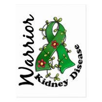 Kidney Disease Warrior 15 Postcard