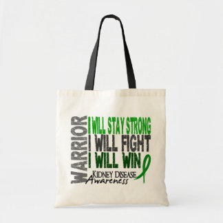 Kidney Disease Warrior Canvas Bag
