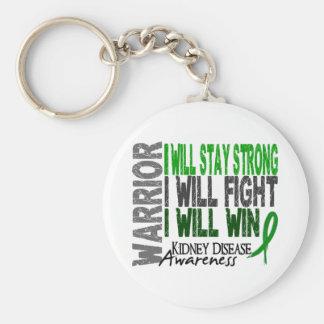 Kidney Disease Warrior Keychain