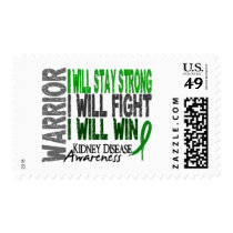 Kidney Disease Warrior Postage