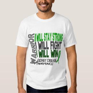 Kidney Disease Warrior T Shirt