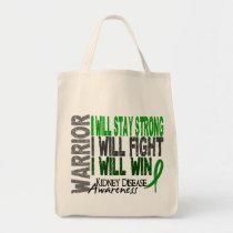 Kidney Disease Warrior Tote Bag