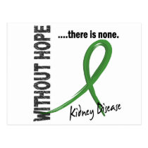 Kidney Disease Without Hope 1 Postcard