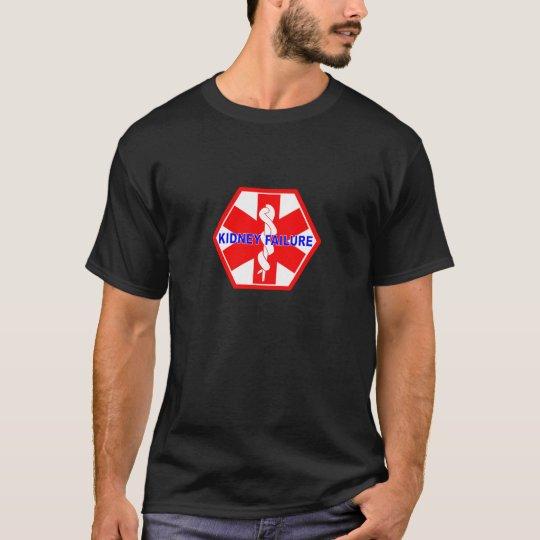 KIDNEY FAILURE MEDICAL ID TAG T-Shirt