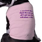 "Kidney Kitty Cat Shirt -- ""I received sub-q..."