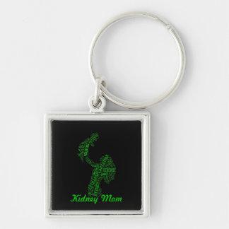 Kidney Mom Keychain