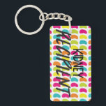 """Kidney Recipient Keychain<br><div class=""""desc"""">Kidneys are the most commonly transplanted organs!  Let people know how lucky you are to have received a kidney transplant with this bright &quot;Kidney Recipient&quot; keychain.</div>"""