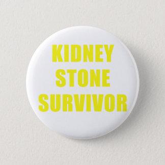 Kidney Stone Survivor Pinback Button