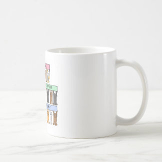 Kidney Transplant anniversary congratulations. Classic White Coffee Mug