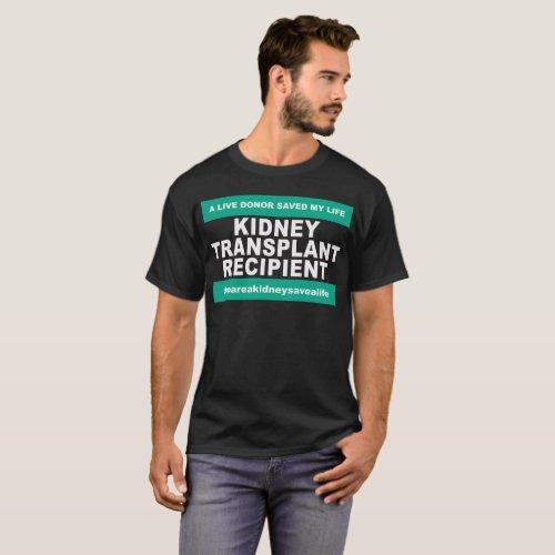 Kidney Transplant Recipient _ Dark Shirts
