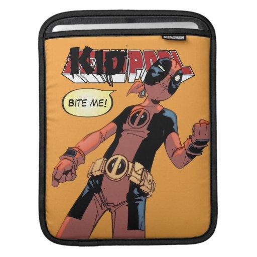 Kidpool Character Art iPad Sleeve
