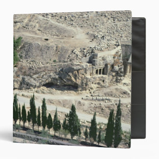 Kidron Valley at the foot of the Mount of Olives Binder