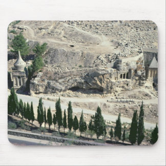 Kidron Valley at the foot of the Mount of Olives Mouse Pad