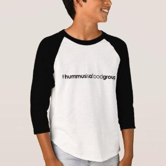 Kids 3/4 Sleeve #hummusisafoodgroup T-Shirt