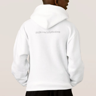 Kids 3D Boy about to fall in the Hole Hoodie